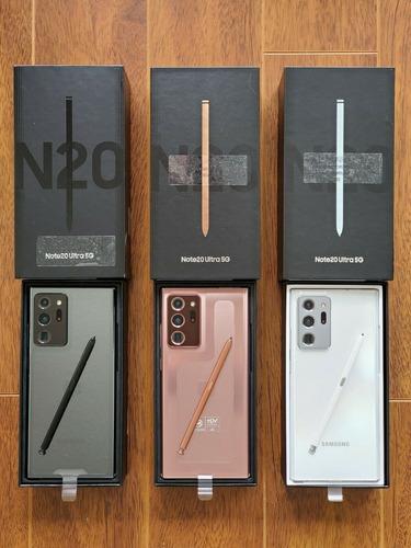 Imagen 1 de 6 de Samsung Galaxy Note20 Ultra 5g 256gb Dual Sim Desbloqueado