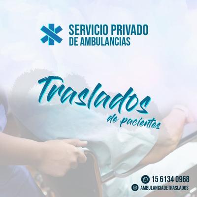 Ambulancias Para Traslados;descuentos A Afiliados De Obras