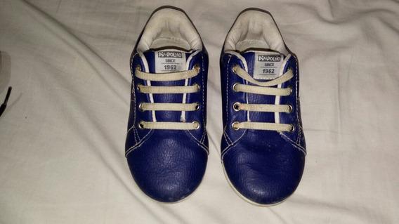 Sapatinho Azul Pimpolho Tam 23