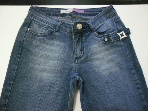Calça Jeans Luxury Dia Denim 40 Feminina Oferta Promocao