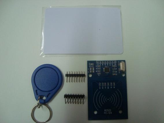 Módulo Leitor Rfid Rc 522 - 13,56mhz + Cartão + Chaveiro