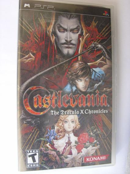 Castlevania The Dracula X Chronicles Psp Lacrado Black Label