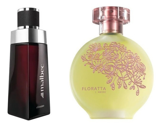 Perfume Malbec Tradicional + Floratta Lamore Boticário