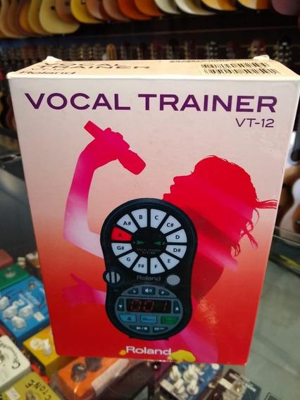 Roland Vt-12 Vocal Trainer Com Fonte