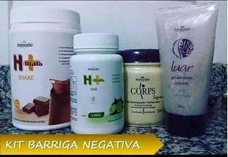 Promoção Kit Emagrecimento Com Dieta Saudável Hinode H+
