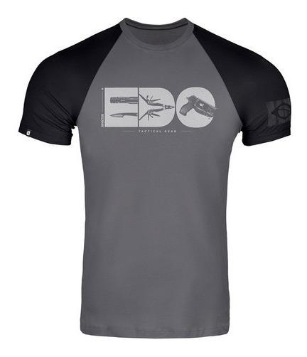 Camiseta Masculina Invictus Concept Gear Em Algodão Cinza