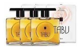 Tabu Deo Colônia 60ml Kit Com 03 Unidades - Tradicional