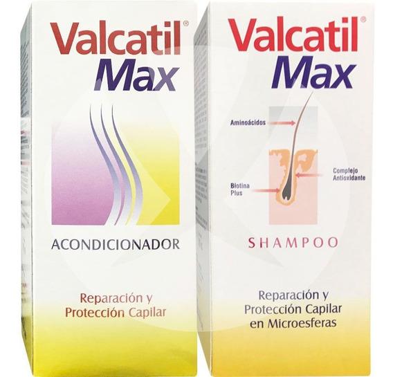 Combo Valcatil Max Shampoo 300ml + Acondicionador 300ml