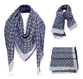 Echarpes Louis Vuitton Pashminas Monogram Varias Cores