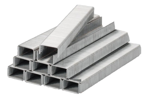 Grapas De 8mm Para Grapadora Industrial Caja X 1000 Unidades