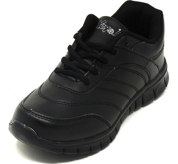 Zapatos Dep. Escolares Yoyo 16367l Negros 32-39 Envío Gratis