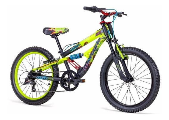 Bicicleta Mercurio Skiller Dh Doble Suspensión Rodada 20