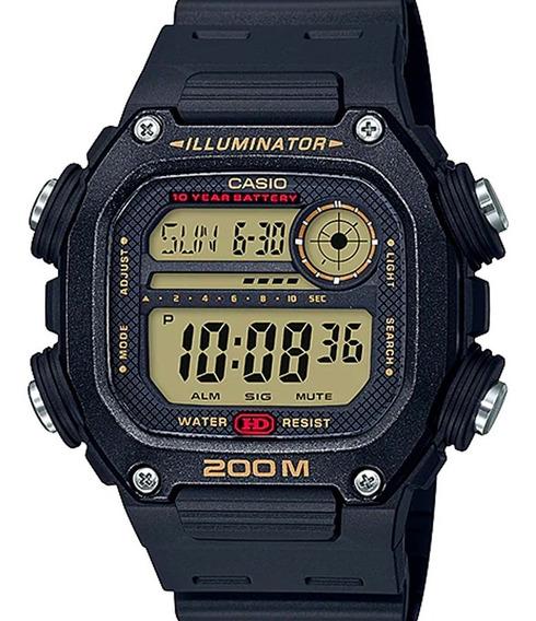 Relógio Casio Masculino Digital Quadrado Dw-291h-9avdf