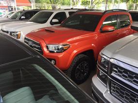 Toyota Tacoma 3.5 Edición Especial 4x4 At 2017 Naranja