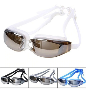Gogles Para Natacion Lentes Proteccion Uv Anti-niebla Hd