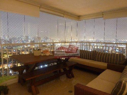 Imagem 1 de 10 de Apartamento Mobiliado De Alto Padrão - Cambuci - Ap3070