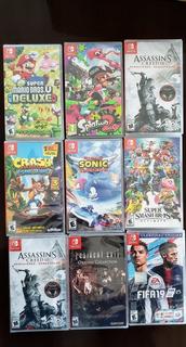 Juegos Nintendo Switch Nuevos Sellados Entrega Local
