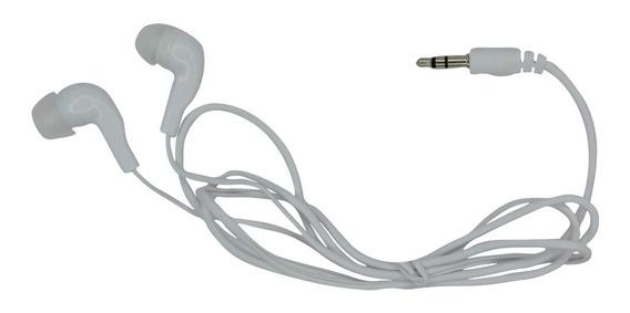 Fone De Ouvido Estéreo Intra-auricular Para Celular - Branco
