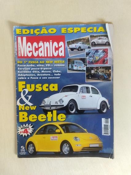 Revista Oficina Mecânica 161 Fusca E New Beetle