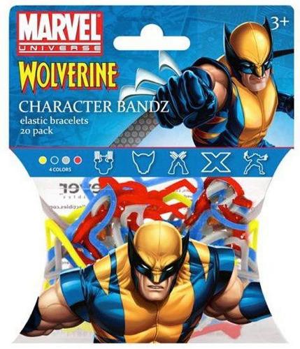 Marvel Pulseras Streetchy Pak X24 Souvenirs-cumples-disfraz