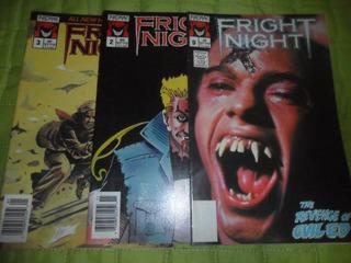 Três Revistas A Hora Do Espanto Fright Night Em Inglês Raros