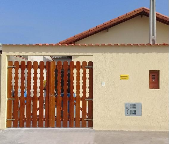 572-casa Com 50m² , 02 Dormitorios,no Bairro Nova Itanhaém