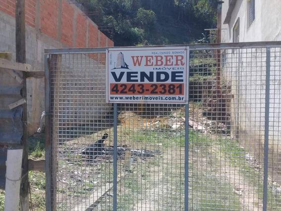 Terreno Plano Com Fundamento Para Construção. - Te0155