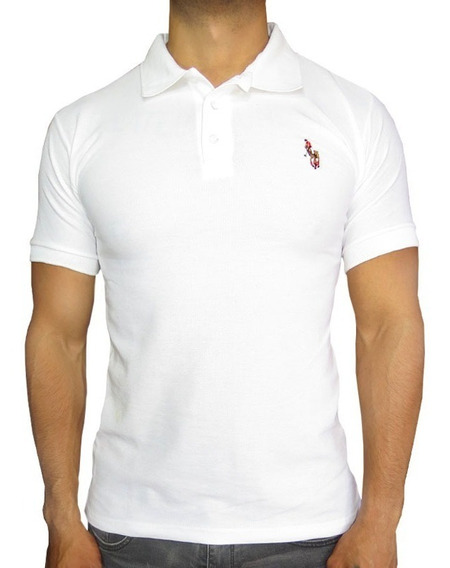 Playera Hpc Polo 3034-hk Blanco