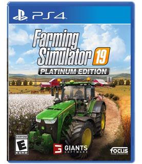 Farming Simulator 19 Platinum Edition Para Ps4