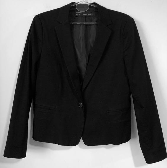 Blazer Saco De Mujer Marca Zara Talle Xl - Impecable