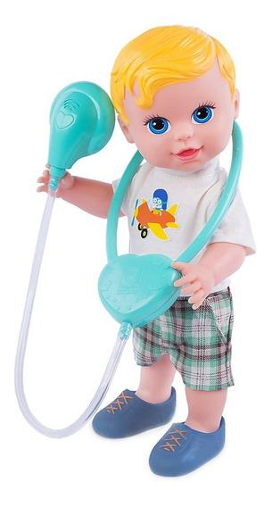Boneco Baby Dodoi Com Acessórios Loiro Menino - Cod 368
