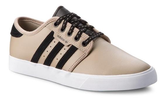 Tenis adidas Originals Seeley Comodos Piel Moda Stan Smith