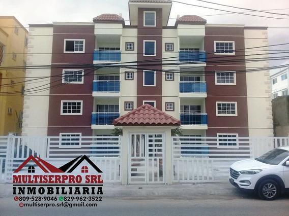 Se Vende 1 Apartamentos 4to Piso Detrás De La Sirena Sc Rd