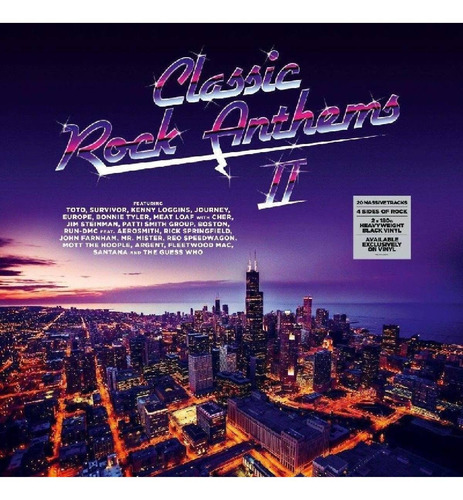 Classic Rock Anthems 2 - Varios Artistas Vinilo Doble Nuevo