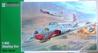 Avião Lockheed F-80 C Shooting Star 1/32 Special Hobby
