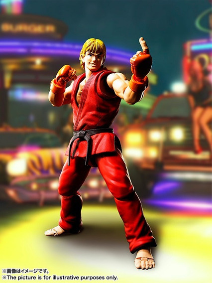 Sh Figuarts Ken Masters - Street Fighter - Bandai Jp