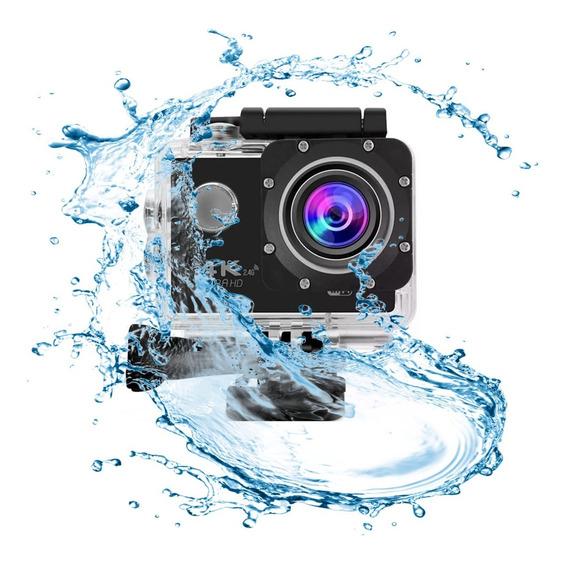 Câmera Action Go Cam Pro Ultra Sport Wifi 4k Hd Prova Dágua