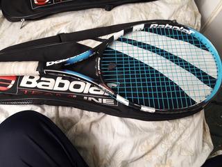 Raqueta Babolat Pure Drive +...casi Nueva Con Funda Nueva Ra