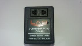 Conversor Ac/ac Inversor De Voltagem 220v-110v Cn-60 ( 60w )