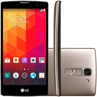 Smartphone Dourado Lg Prime Plus H502