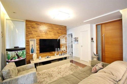 Apartamento Com 3 Dormitórios À Venda, 187 M² Por R$ 2.175.000 - Vila Leopoldina - São Paulo/sp - Ap18558