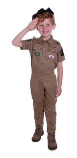 Fantasia Policia Militar Infantil