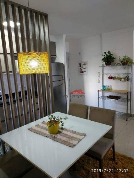 Apartamento Com 2 Dormitórios À Venda, 65 M² Por R$ 480.000,00 - Cambuci - São Paulo/sp - Ap4163