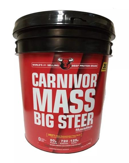 Proteina Musclemeds Carnivor Mass Big Steer 15 Lbs