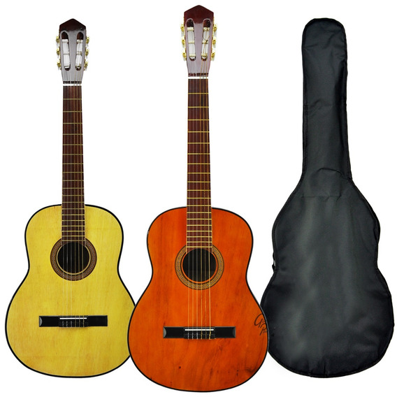 Guitarra Electroacustica Zurdo Criolla Colores Funda Envio