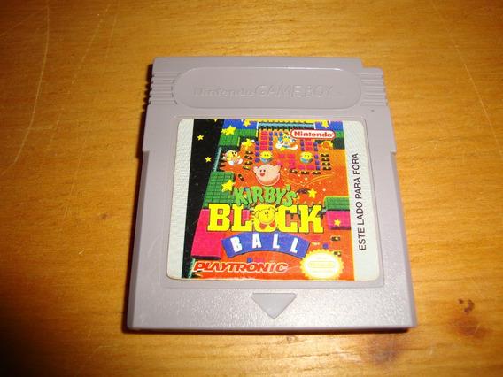 Kirby´s Block Ball Original Playtronic Para Game Boy