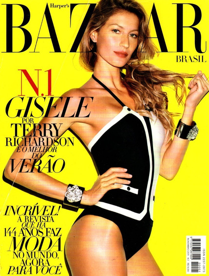 Harpers Bazaar Brasil Nº 001 - Gisele Bundchen