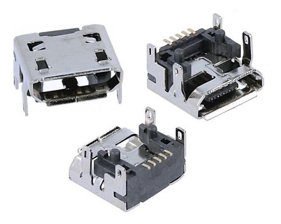 Kit 3 Conector Carga Original Caixa Som Jbl Flip 3 Micro Usb