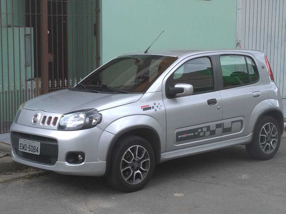 Fiat Uno 1.4 Sporting Flex Prata