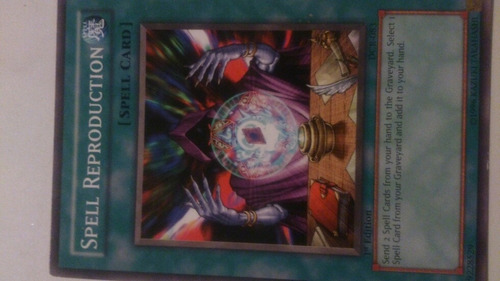 Yugioh! Spell Reproduction